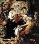 Богоматерь со святыми